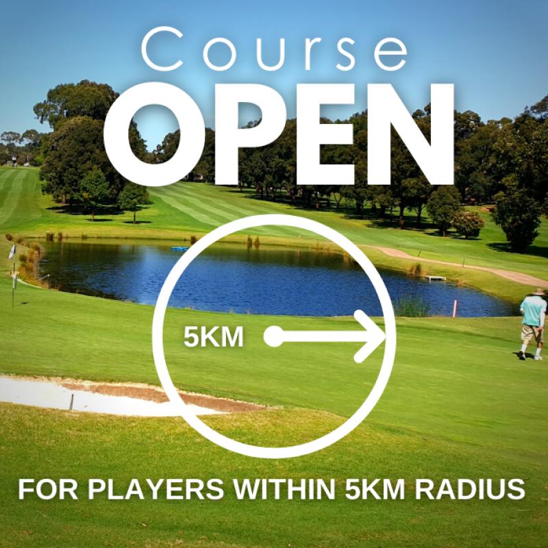 5km Course OPEN