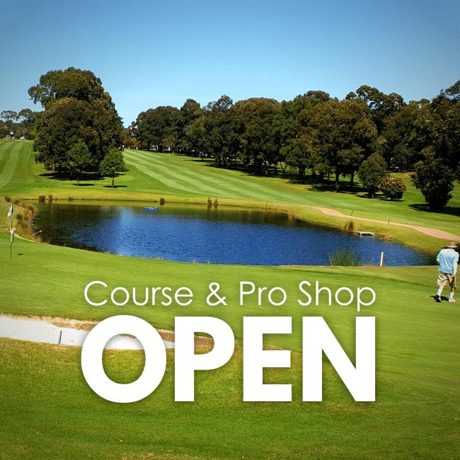 Course & Pro Shop OPEN NL