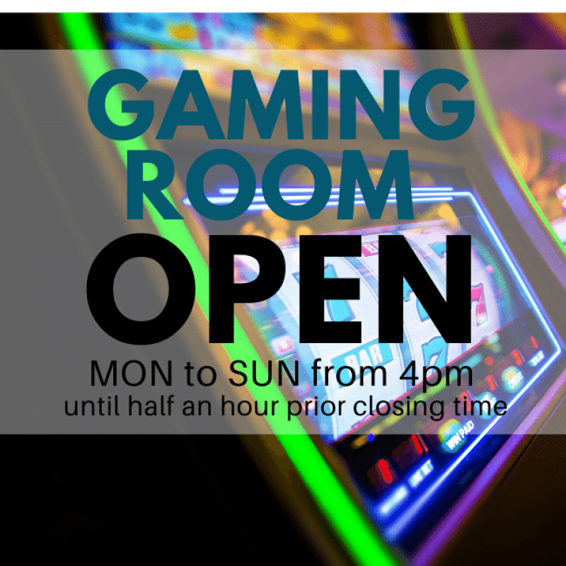 Hours of Gaming Room