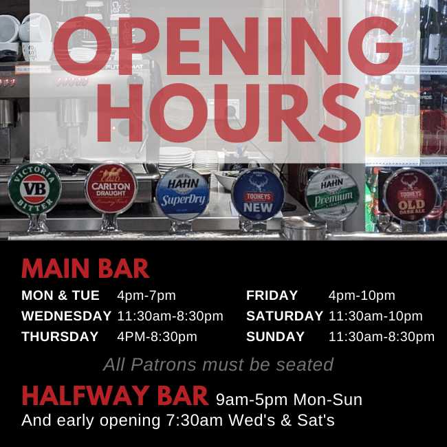 Latest OPENING HOURS